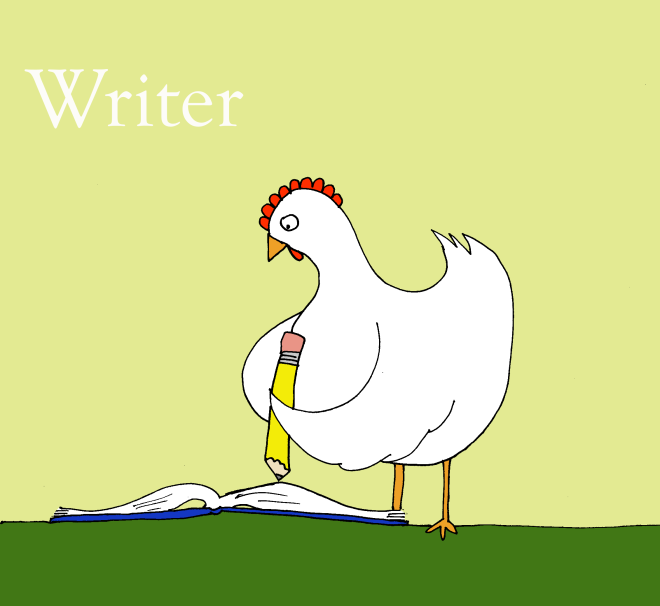 writing-chicken